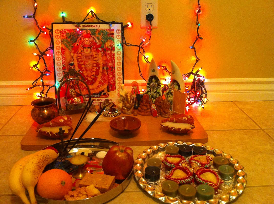 Image result for diwali pooja